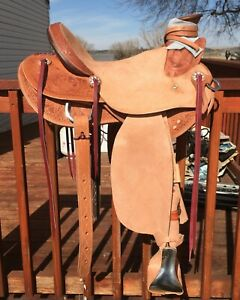 Custom Wade Ranch Saddle