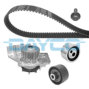 Water Pump + Timing Belt Kit - Dayco ktbwp5340