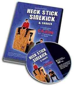Schlagwerk-DVD-Heck-Stick-Side-Kick-und-Shaker-mit-Cajon-von-Matthias-Philipzen