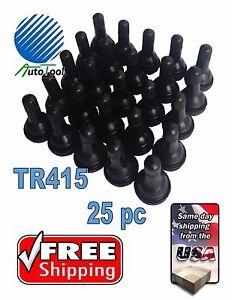 25-TR-415-Snap-In-Tire-Valve-Stem-1-1-4-034-625-034-Valve-Hole-TR415-Short-fat