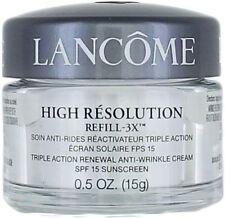 Lancome High Resolution Refill 3X Triple Action Renewal Anti Wrinkle Cream .5 oz