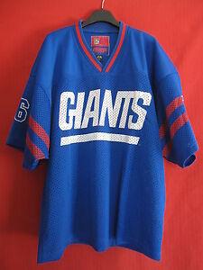 Maillot Football Americain NFL Giants 1991 New York Campri Vintage USA Shirt - L