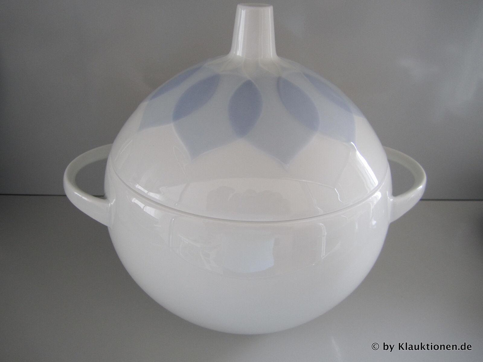 Rosenthal Lotus Bleu terrine Bol Avec Couvercle Neuf & Emballage Original Bowl