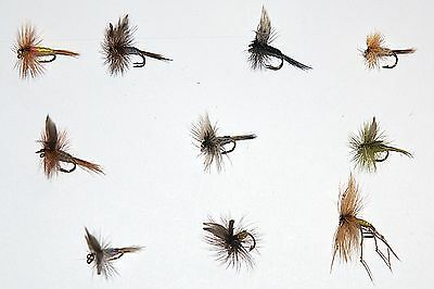 10 -60 Dry Trout Grayling Fly fishing Flies 10 patterns by Dragonflies