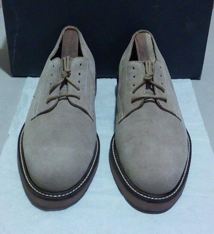 New Private Label  999-55 9.5 M tan sueded leather (1751)