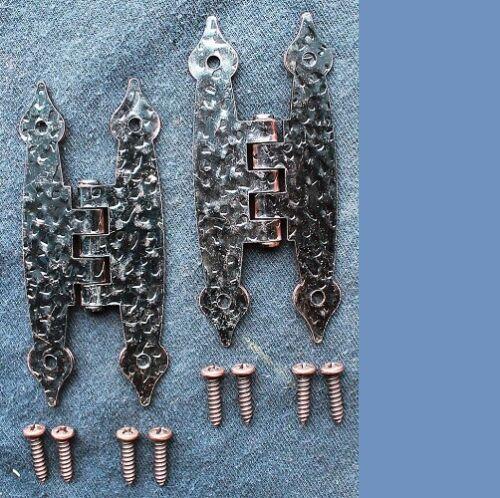 Pair Of Liberty Hardware Brainerd Hammercraft Cabinet Door Hinges