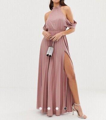 Asos Abendkleid Rose Blush 36/ S NEU | eBay