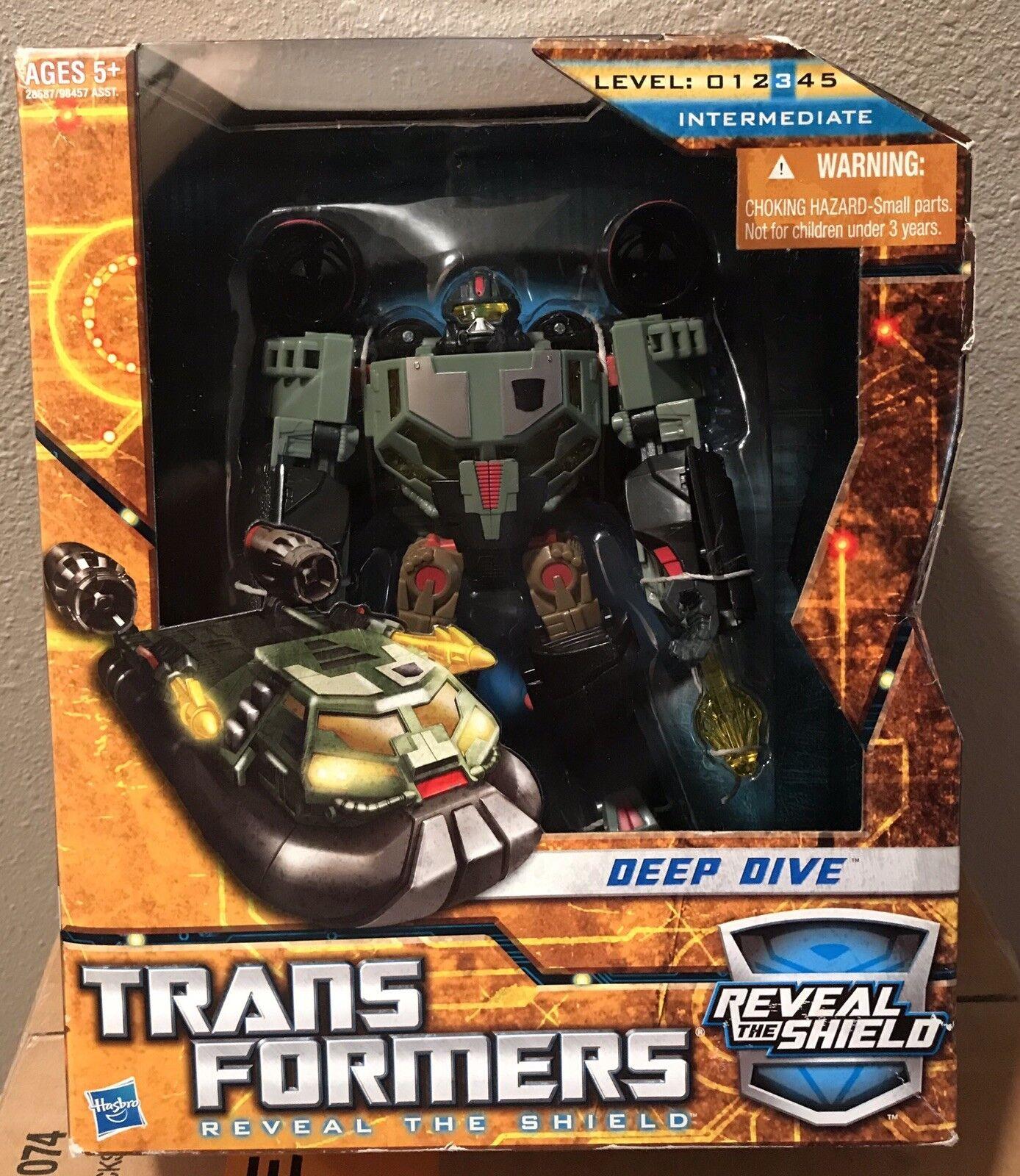 New 2011 Transformers HFTD Reveal the Shield Voyager Class Deep Dive Figure NIB