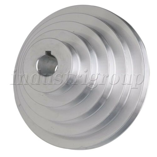 22mm Bore 54mm-150mm OD 5 Slot V-Shaped Pagoda Pulley 5 Step Pulley Belt