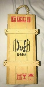 Homer-Simpsons-Duff-Beer-Springfield-Export-Wooden-Shipping-Crate-Box-Wall-Decor