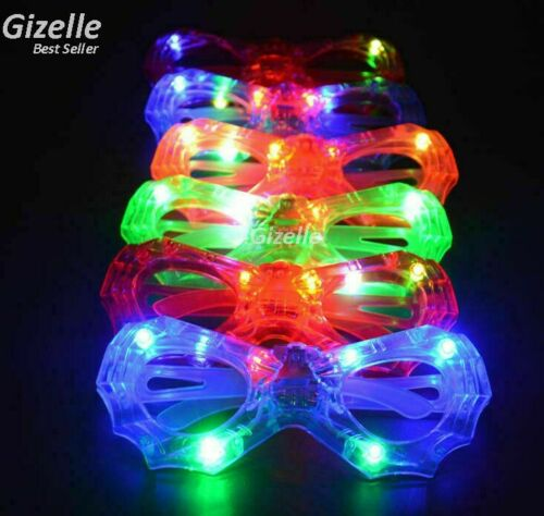 GLOWING,PARTY AND CLUB GLASSES FOR CHILD NEW LED GLASSES SPIDER SHAPE LIGHT UP