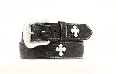 GEM DANDY Men/'s Collegiate Alabama Khaki Cloth Fabric Leather Belt 9201500 NWT