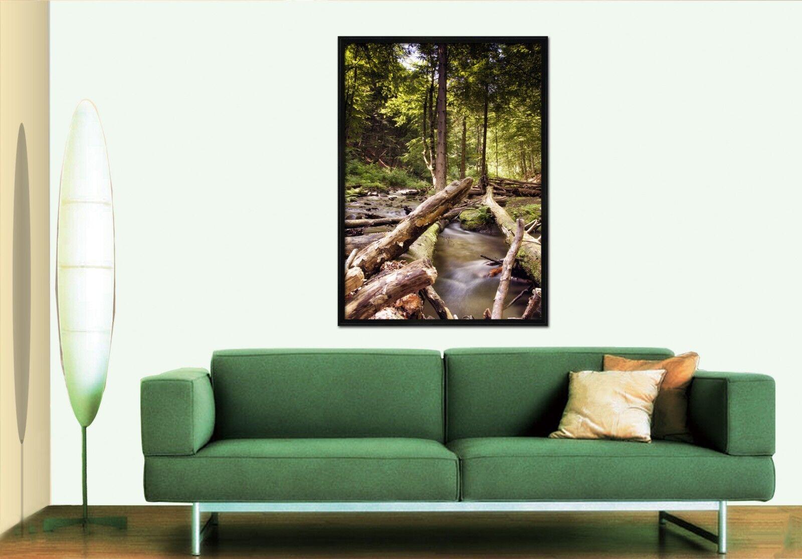 3D Grove Creek 565 Fake Framed Poster Home Decor Print Painting Unique Art