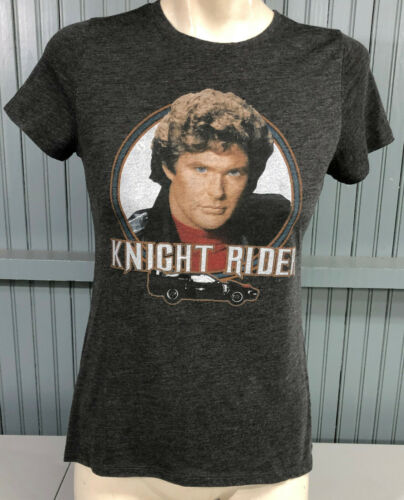 Hasselhoff Knight Rider Retro Ladies Medium T-Shir