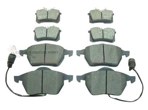 FORD GALAXY MK1 1993-1999 FRONT AND REAR BRAKE DISC PADS NEW SET