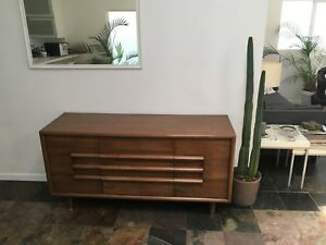 Image Is Loading 1950s Mid Century Vintage Californian Made Dresser Furniture