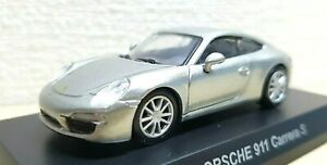 1//64 Kyosho PORSCHE BOXSTER SILVER diecast car model