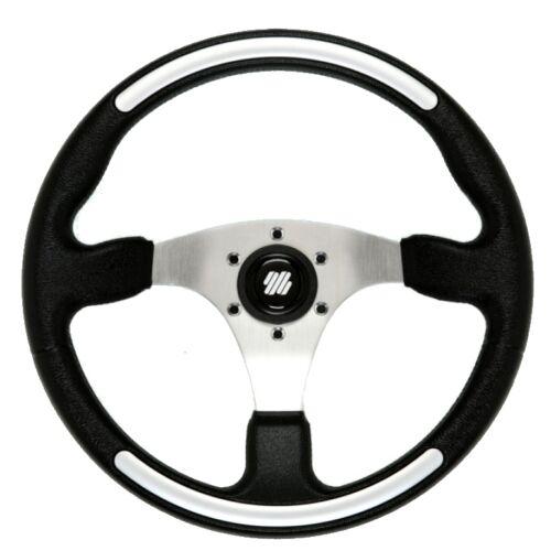Ultraflex Santorini 3 Spoke Helm Boat Steering Wheel - 350mm