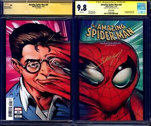 Amazing-Spider-Man-29-IMMORTAL-VARIANT-CGC-SS-9-8-signed-Mark-Bagley-NM-MT