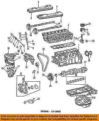 Lexus TOYOTA OEM 95-05 GS300-Engine Cylinder Head Gasket 1111546045   eBayeBay