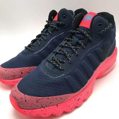 Nike Air Max Invigor MID Men's Running Shoes ObsidianBlack Solar Red 858654 401 | eBay