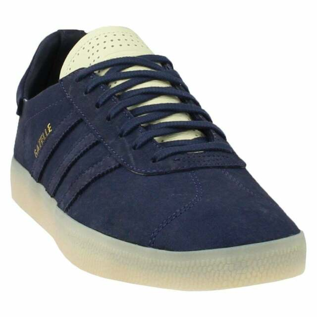 adidas Gazelle Crafted Shoes Men's Black Cloud White 10.5