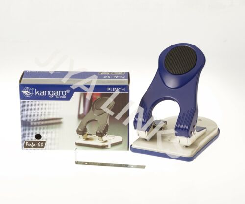 KANGARO HEAVY DUTY ALL METAL CONSTRUCTION 2 HOLE PUNCH PERFORATOR 60 SHEETS