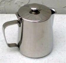 Lot Of 12 Coffee Cream Dispenser Creamer Latte Milk Spout Withlid 12oz 912 Ss