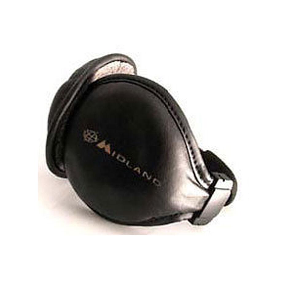 Ohrschützer Headset Subzero Leder Ohrwärmer für Handy MP3 Funkgerät Midland Alan