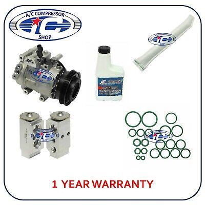A//C Compressor Kit Fits Kia Rio 2006-2011 Rio5 2006-2011 L4 1.6L 97371