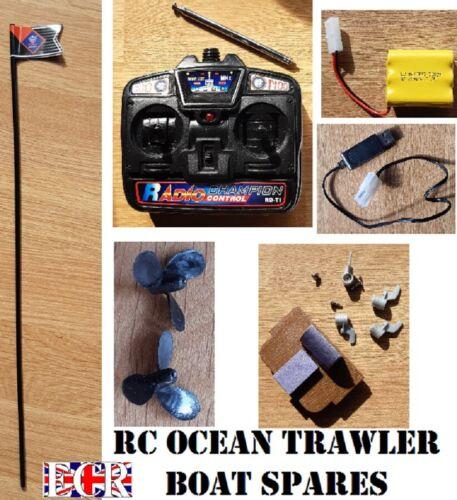 New RC OCEAN chalutier bateau pièces et pièces de rechange pour RC Télécommande double hélice