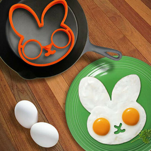Rabbit egg fried frying mold egg mould shaper eggs ring kitchen cooking tool  ML