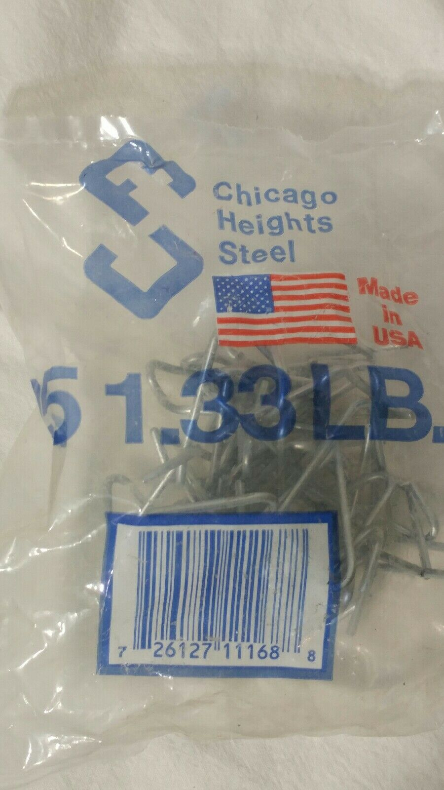 Fastener 40 ea Chicago Heights M005FAST25RG025 25 Packs T-Post Fence Post Clip