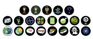 10 X Geocaching Pin Badge Buttons Ftf Trade Swag Icon Cito Virtual Wherigo-afficher Le Titre D'origine Dans Beaucoup De Styles