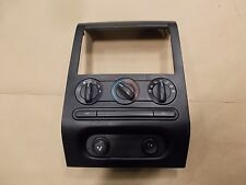 04-08 Ford F-150 Manual Climate Control Heater AC Switch w/ Bezel Cover Trim OEM