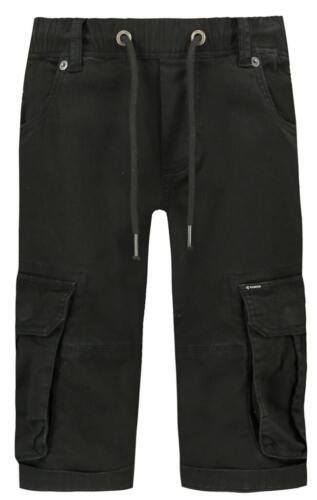 Garcia Jungen Cargo Shorts Gr.134-176 kurze Hose Bermuda mit Seitentaschen black