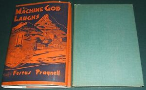 The-machine-God-Laughs-by-Pragnell-Festus-1949-first-edition-in-dust-Jacket