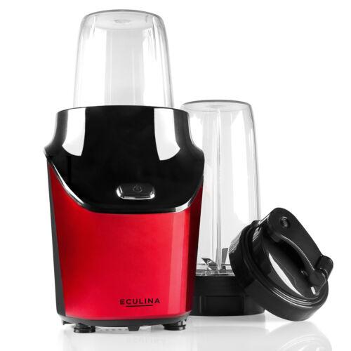 Eculina Smoothie Maker Standmixer Mixer 2 Becher Shaker Milchshaker Zerkleinerer