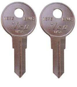 2 Keys Made Leer Bauer Truck Cap Keys Made To Your Code Numbers 001-020 LEER TOP