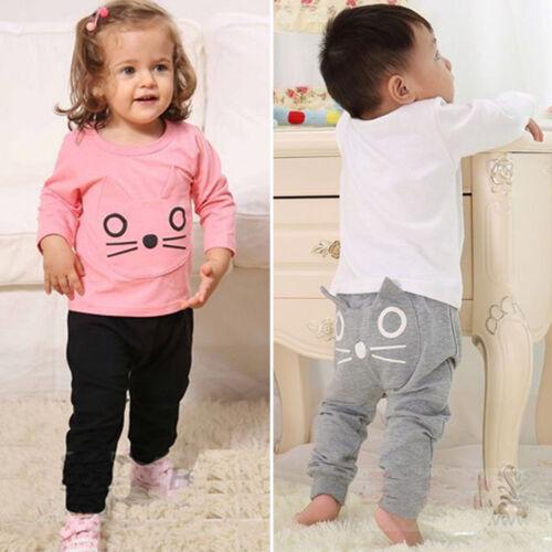 Toddler Baby Kid Elastic Waist PP Harem Pants Legging Sweatpants Floral Trousers
