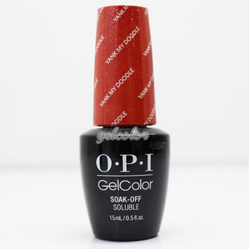 OPI GelColor Washington DC Gel Nail Polish 15ml 0.5 fl oz Yank My Doodle #GCW58