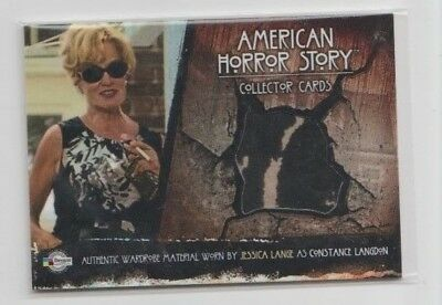 JESSICA LANGE AS CONSTANCE LANGDON WARDROBE CARD ARC30 AMERICAN HORROR STORY