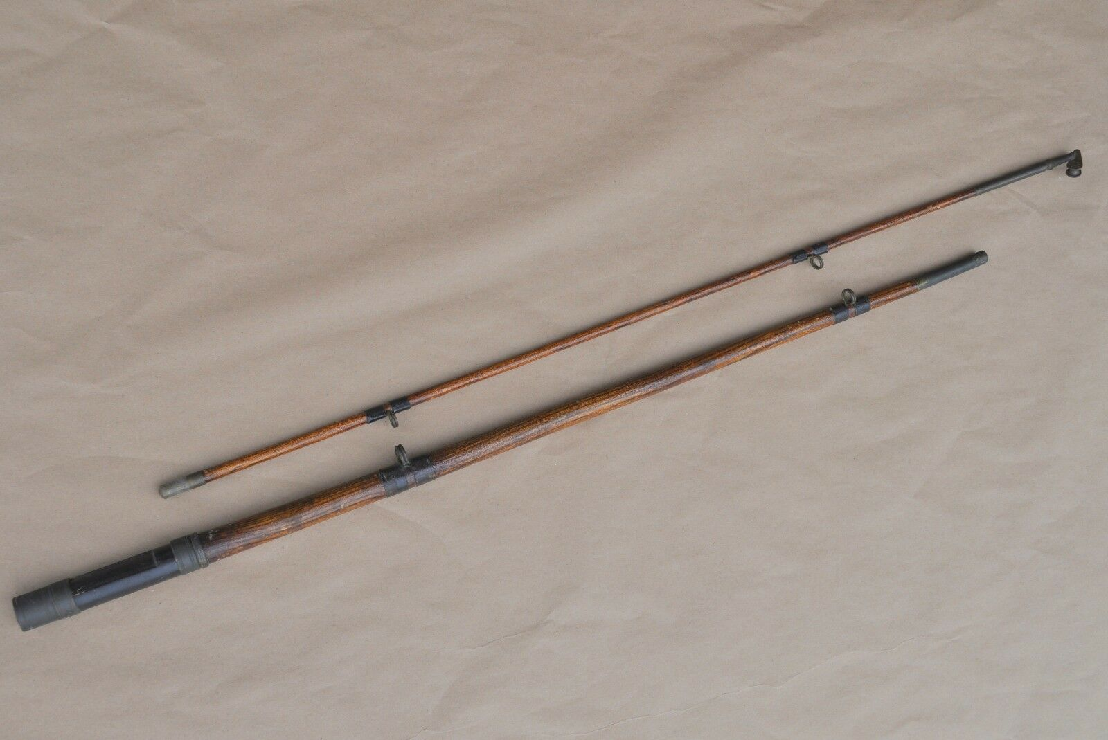 Antique Antique Antique Vintage Upstate New York 1000 Island Area Custom Musky Fishing Rod a1fbd1
