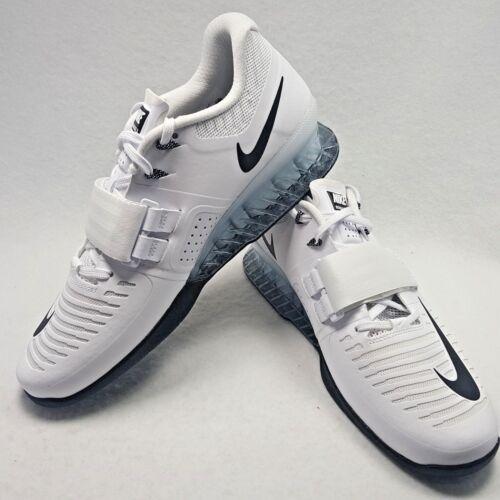 Power Peso Sollevamento Palestra Romaleos Crossfit 3 Nero Nike Uomo Bianco 7qgpwx