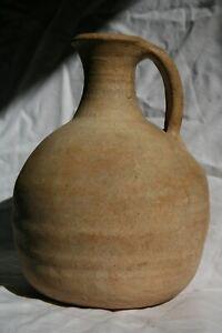 Antique grande cruche romaine.Archéologie poterie.Vase-Roman terracotta