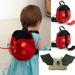 Cute Baby Keeper Toddler Walking Safety Harness Backpack Bag Strap Rope Stylish