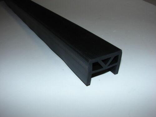 10cm Profilgummi Stütze Auflage 48x15mm Aufsetzmaß 40mm Meterware GP29,90€//m