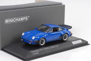 1974-1977-Porsche-911-930-3-3-Turbo-Arrowblau-1-43-Minichamps-42-100pcs