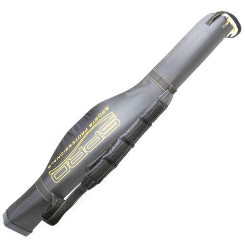 Semi-Hard Big Belly Rod Case Black 150cm Spro Rutentasche Rutenfutteral