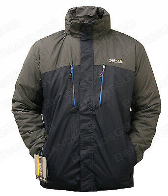 RRP£90 REGATTA MENS WATERPROOF BREATHABLE FABENS JACKET /ZYBER INSULATED JACKET